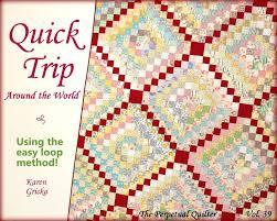 Best 25+ Twin quilt pattern ideas on Pinterest | Twin quilt size ... & Quiltsy Destash Party, Quilt Pattern, Trip Around the World Quilt, Easy  Quilt Pattern Adamdwight.com