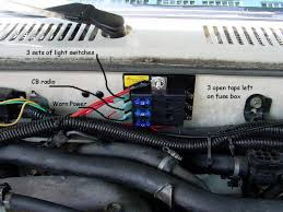 aux fuse box forums as i want total control and the key off the wire they show going to the low beams is the wire that goes to my aux box instead to get its juice