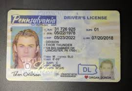 - Drivers Pennsylvania Scannable Id License Fake New pa