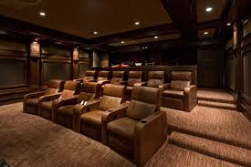 inexpensive home theater seating. Inexpensive Home Theater Seating Traditional With Media Room Furniture Wood Wall Coffered Ceiling D