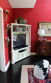 Corner Tv Cabinet With Hutch Putting Baby In The Corner Dealing With The Television Our