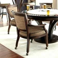 dining room chairs with casters caster dining room chairs caster dining set dining room table chairs