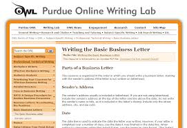 Basic Business Letters Purdue Online Writing Lab Business Resources Ashley Mcmurchy