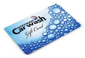 Business Gift Cards With Logo Capital Region Hoffman Car Wash Gift Card