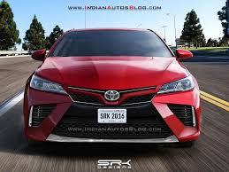 toyota new camry 2018. exellent new imghttpindianautosblogcomwpcontentuploads2016092018toyotacamry renderingjpg intended toyota new camry 2018