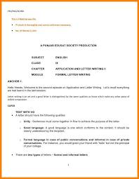 Sample Formal Letter Mesmerizing 48 Informal Lrtter Formate Jpg Image