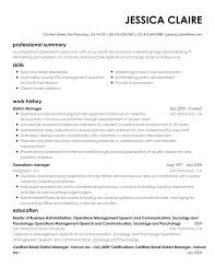 Resume Bulder Free Resume Builder Online Create a professional resume today 6