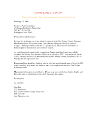 Letter Of Intent Template Business Partnership Collection