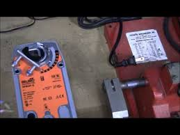 testing a damper motor belimo mo nfbup s