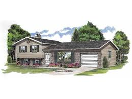 fabulous split level house plans with attached garage simple design with efficient uses hwbdo06388 split level from