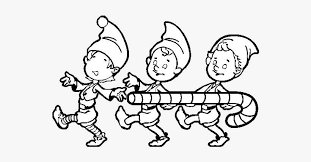 Pypus is now on the social networks, follow him and get latest free coloring pages and much more. Three Christmas Elves Coloring Page Christmas Elves Colouring Pages Png Image Transparent Png Free Download On Seekpng