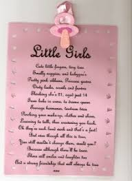 Verses For New Baby Girl Baby Girl With Verse Baby Shower Verses