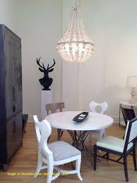 amazing height of chandelier over dining room table hd