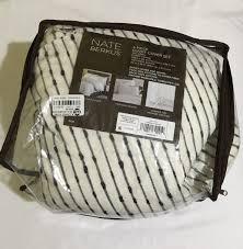 upc 490601721419 image for gray woven duvet cover set king 3 pc