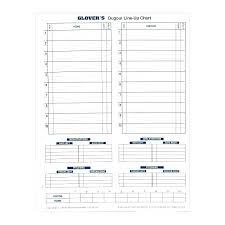 Lineup Card Template Amartyasen Co