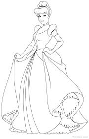 Cinderella Coloring Pages Coloring Pages Printable Princess