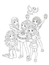 Small Picture Lego friends coloring pages for girls ColoringStar
