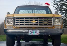 My 1976 Chevy Silverado K20 Camper Special. Merry Christmas ...