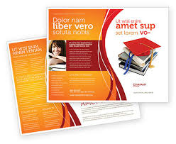 Education Brochure Templates Higher Education Brochure Template Design And Layout
