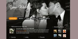 Wedding Website Template Mesmerizing Weddings Multipurpose Wedding Theme Unique Website Templates Quirky