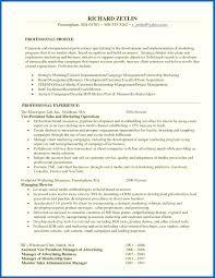 9 10 Resume Summary For Management Position Nhprimarysource Com