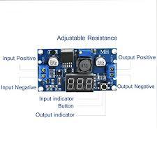 VIKINS <b>LM2596 DC-DC Adjustable Voltage</b> Regulator 4.0-40V to ...