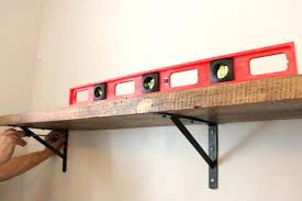 how to hang a shelf on the wall imposing ideas how to install wall shelves things