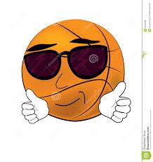 Cool Basketball Ball Cartoon Stock Illustration - Image: 43150286