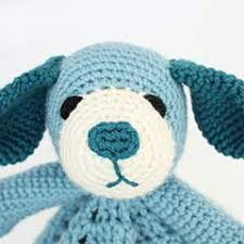 Free Crochet Lovey Pattern Beauteous Puppy Dog Lovey Crochet Pattern Allcrochetpatternsnet