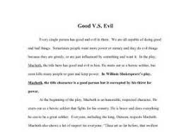 good vs evil in macbeth essays on fate case study custom essay  good vs evil in macbeth essays on fate