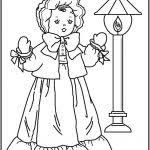 American Girl Coloring Pages Coloring Pages For Kids