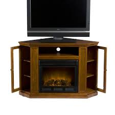 brown lacquered pine wood corner tv cabinet with side glass doors remarkable corner tv stands