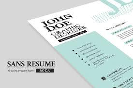 Resume Portfolio Cover Page Sans Resume Cover Letter Portfolio Resume Templates Creative 15