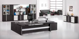 office desk modern. Modern Executive Desk Room With Grey Work And Office Interior
