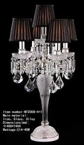 amazing chandelier table lamp crystal chandelier table lamp intended for elegant household crystal chandelier table lamps ideas
