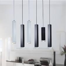 Us 2071 24 Offled Anhänger Lampe Dimmbare Lichter Küche Insel Esszimmer Shop Bar Zähler Dekoration Zylinder Rohr Hängen Lampen In Pendelleuchten
