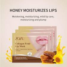 Патчи-маска для губ ZOZU Collagen Fruit Lip Mask (Мёд). Копия ...