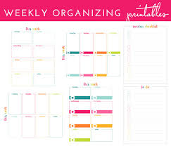 week schedule print out how i organize my week with a printable weekly schedule the
