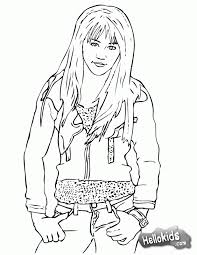 Small Picture Free Printable Coloring Pages Hannah Montana Coloring Home