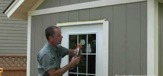 how to build a shed part 15 installing exterior wood trim
