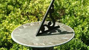 how to make a garden sundial page 1