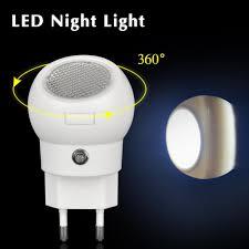 whole 360 degree rotating led night light auto sensor smart lighting control lamp 110v 240v nightlight bulb for baby bedroom gift control humidity bulb