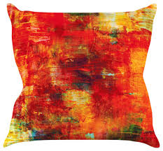 orange accent pillows. Ebi Emporium \ Orange Accent Pillows