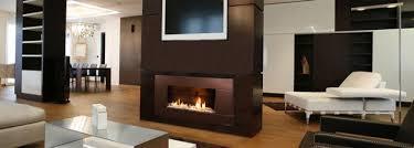 Livingroom  Linear Gas Fireplace Fireplace Glass Luxury Gas Fireplace Ideas