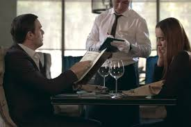 Handsome Man Reading Menu in Restaurant. Business Couple Ordering Food in  Cafe by stockbusters on Envato Elements