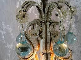 image of metal birdcage chandelier