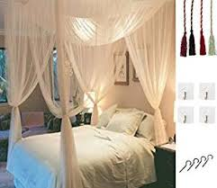 Amazon.com: MOSQUITO NET for Double Bed by Comtelek, Four Corner ...