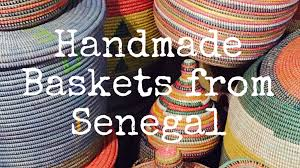 Handmade Baskets from Senegal