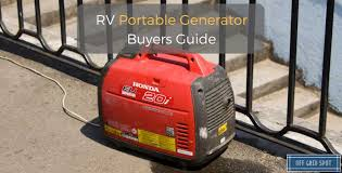 11 Best Portable Generators For Rv Use December 2019
