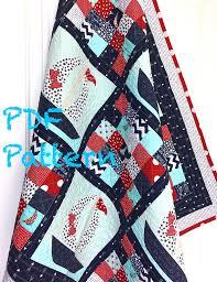 Sailboat Baby Quilt Pattern, Quilt Pattern, Nautical baby Quilt ... & Sailboat Baby Quilt Pattern, Quilt Pattern, Nautical baby Quilt Pattern,  Baby Boy blanket Adamdwight.com